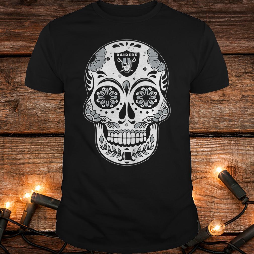 Oakland Raiders sugar skull shirt Classic Guys / Unisex Tee