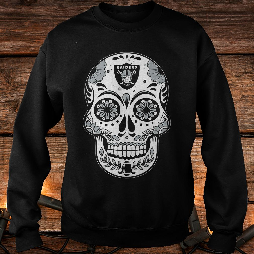Oakland Raiders sugar skull shirt