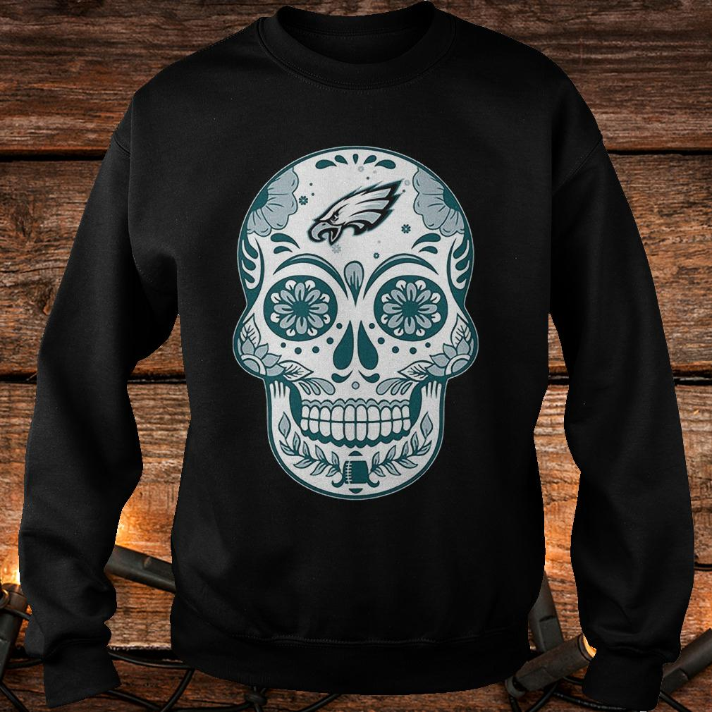 Philadelphia Eagles sugar skull shirt