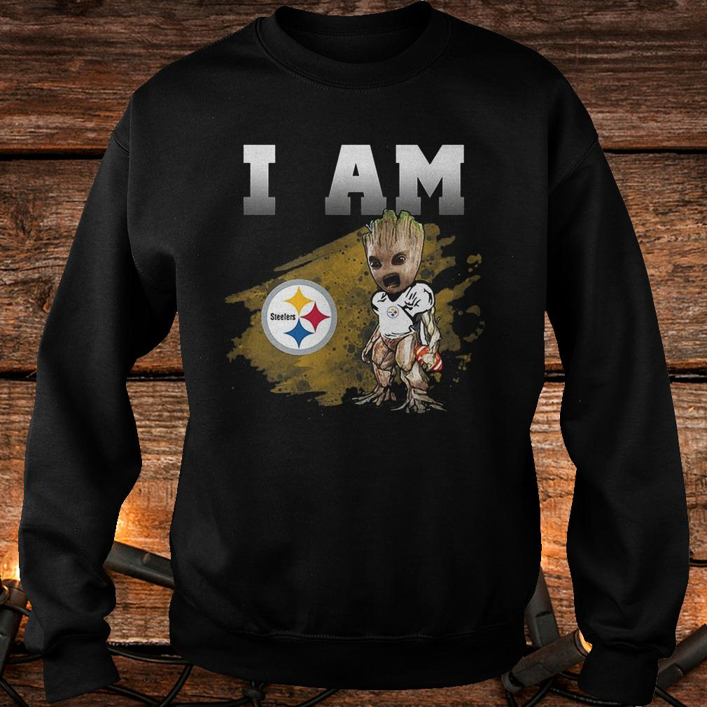 Pittsburgh Steelers: I Am Groot shirt