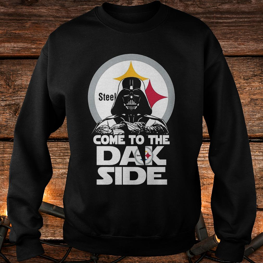 Pittsburgh Steelers come to the dak side Dark Vader shirt