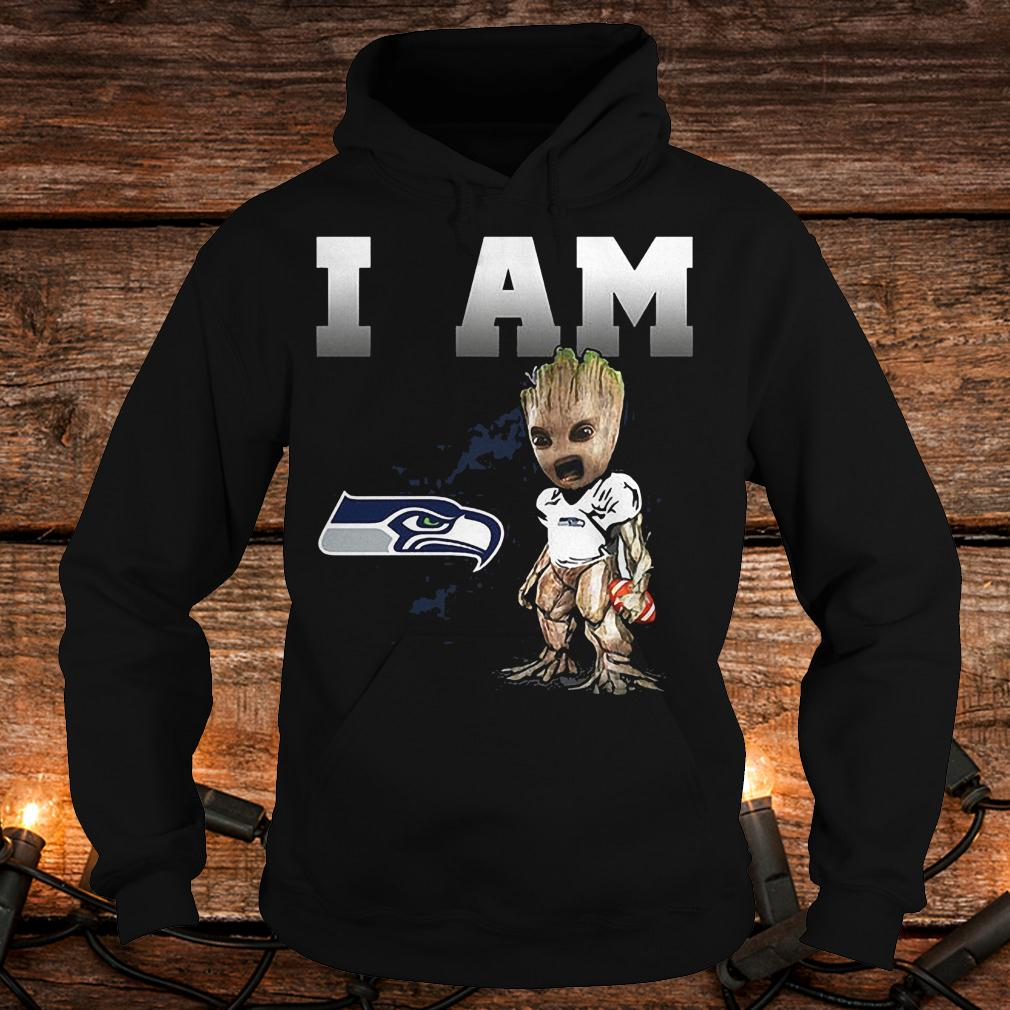Seattle Seahawks: I Am Groot shirt Hoodie