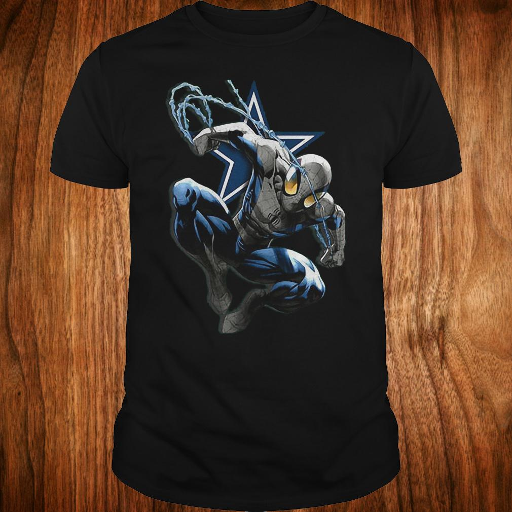 Spiderman Dallas Cowboys shirt