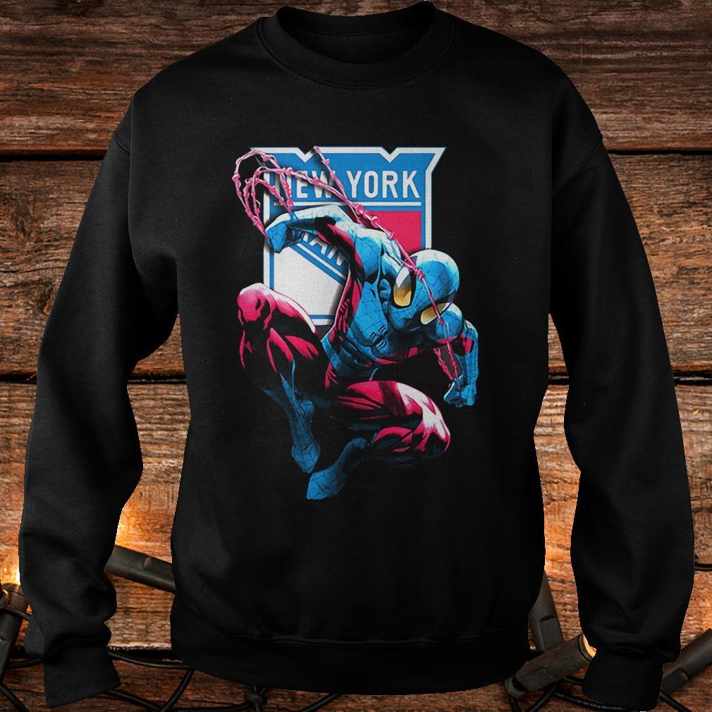 Spiderman New York Rangers shirt