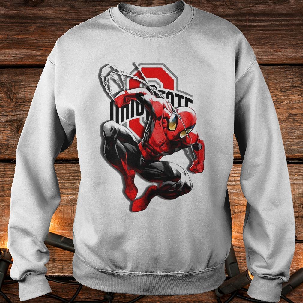 Spiderman Ohio State Buckeyes shirt