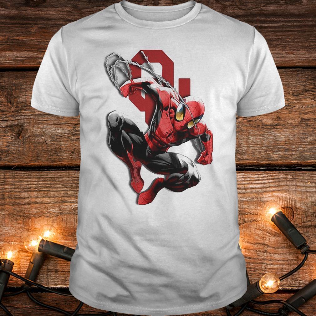 Spiderman Oklahoma Sooners shirt Classic Guys / Unisex Tee