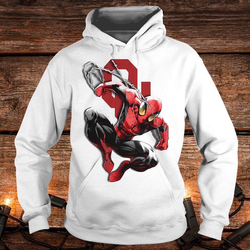 Spiderman Oklahoma Sooners shirt Hoodie