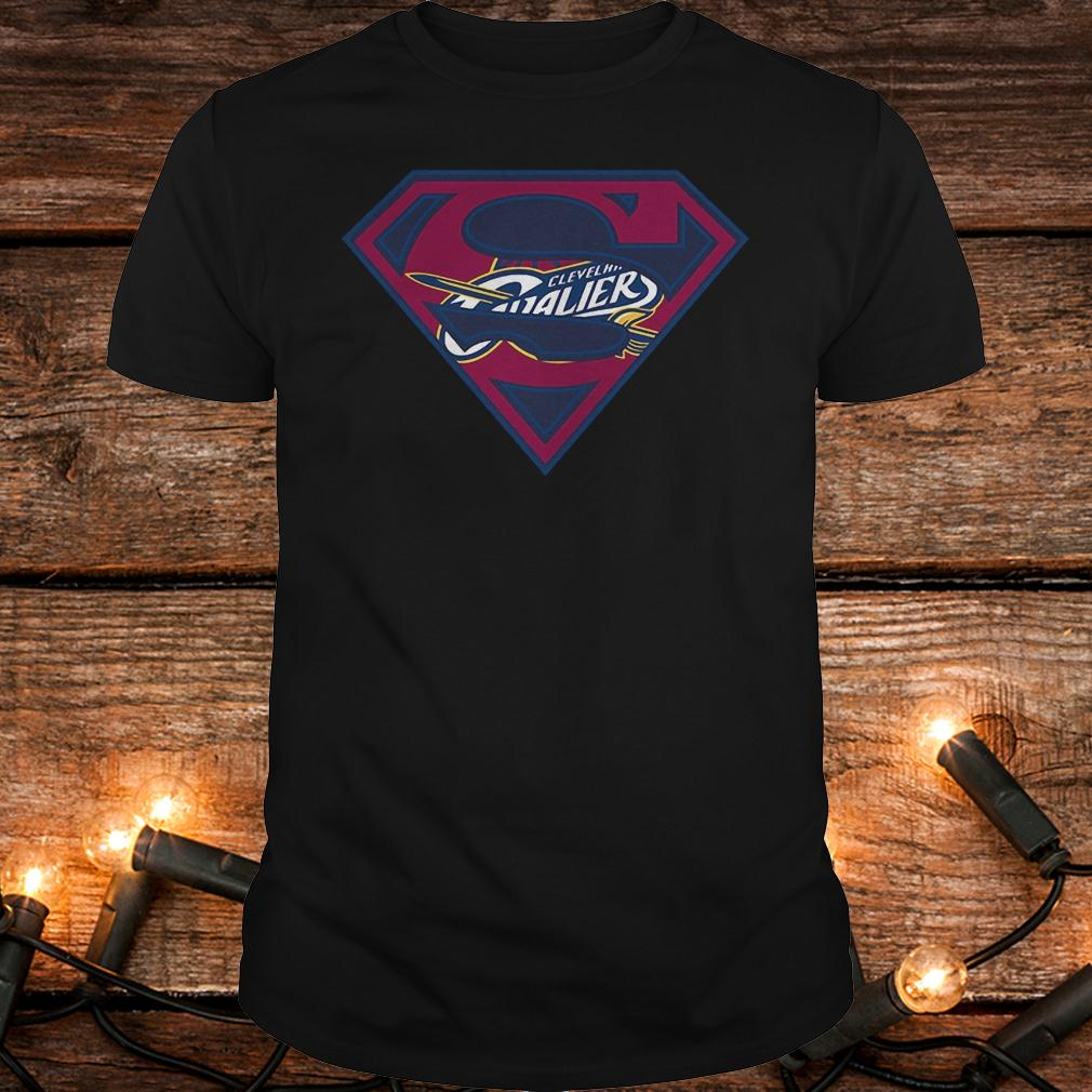 Superman Cleveland Cavaliers shirt Classic Guys / Unisex Tee