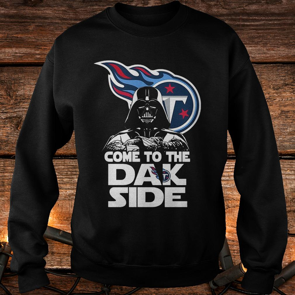 Tennessee Titans come to the dak side Dark Vader shirt