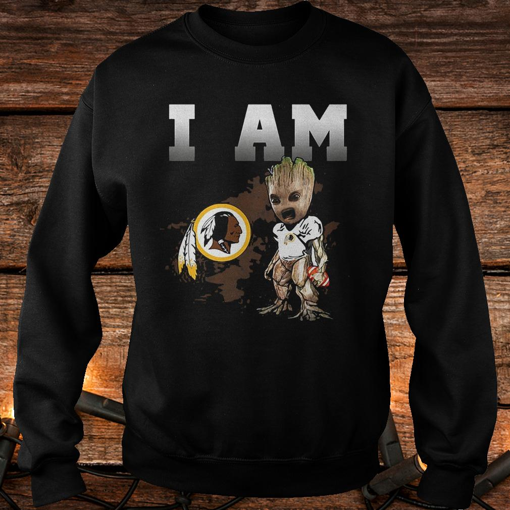 Washington Redskins: I Am Groot shirt