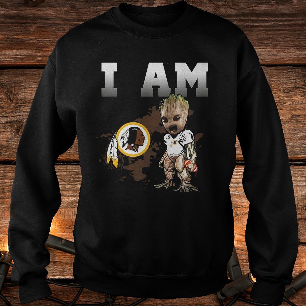 Washington Redskins: I Am Groot shirt
