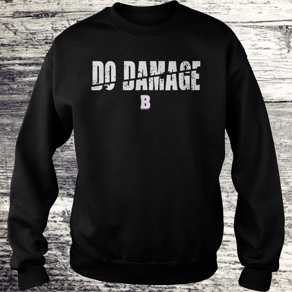 Boston Baseball Do Damage shirt