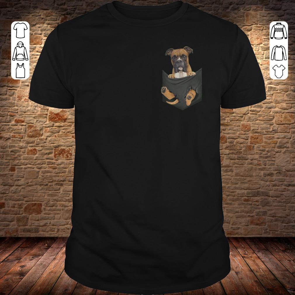 Boxer Tiny Pocket shirt Classic Guys / Unisex Tee