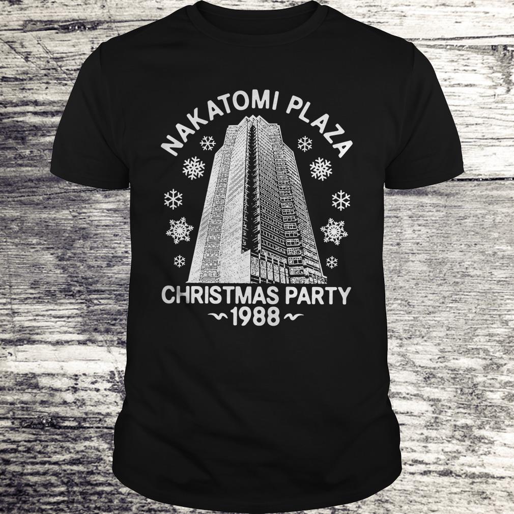 Christmas party nakatomi plaza 1988 shirt Classic Guys / Unisex Tee