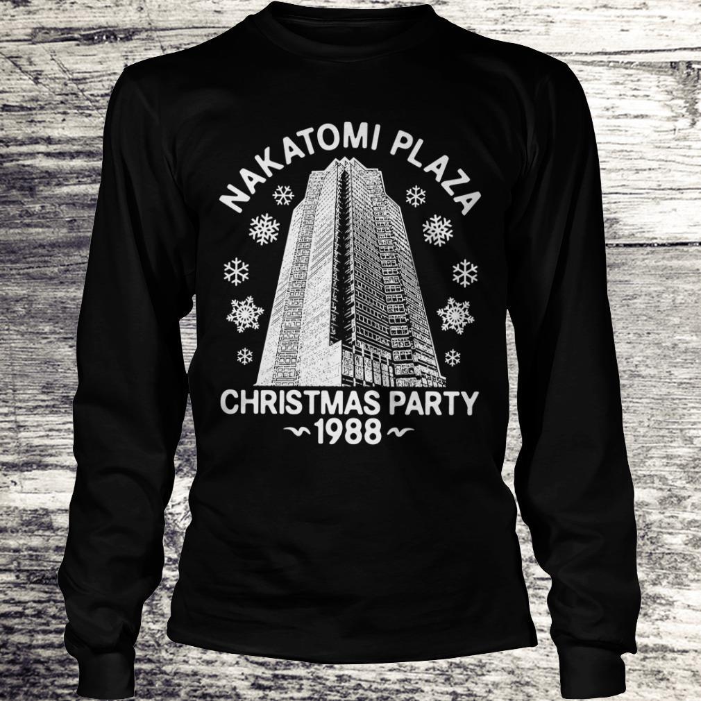 Christmas party nakatomi plaza 1988 shirt Longsleeve Tee Unisex