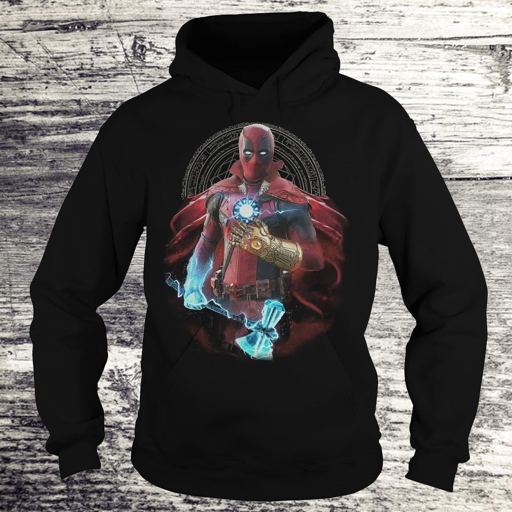 Deadpool Doctor Strange Iron Man Thanos Thor Avengers Infinity War shirt