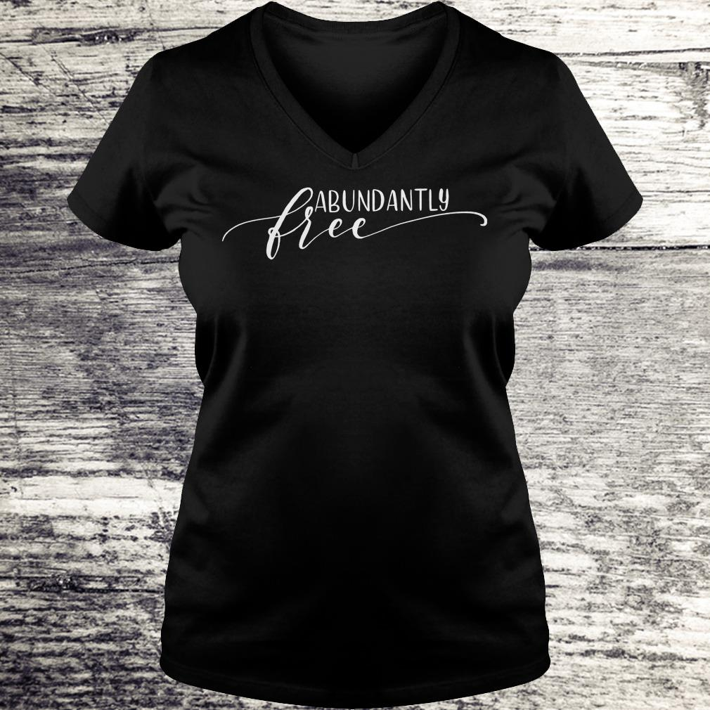 Ephesians free abundantly shirt Ladies V-Neck