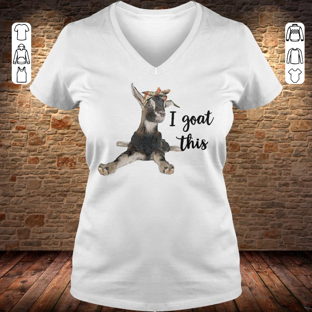 Farmers I goat this shirt Ladies V-Neck