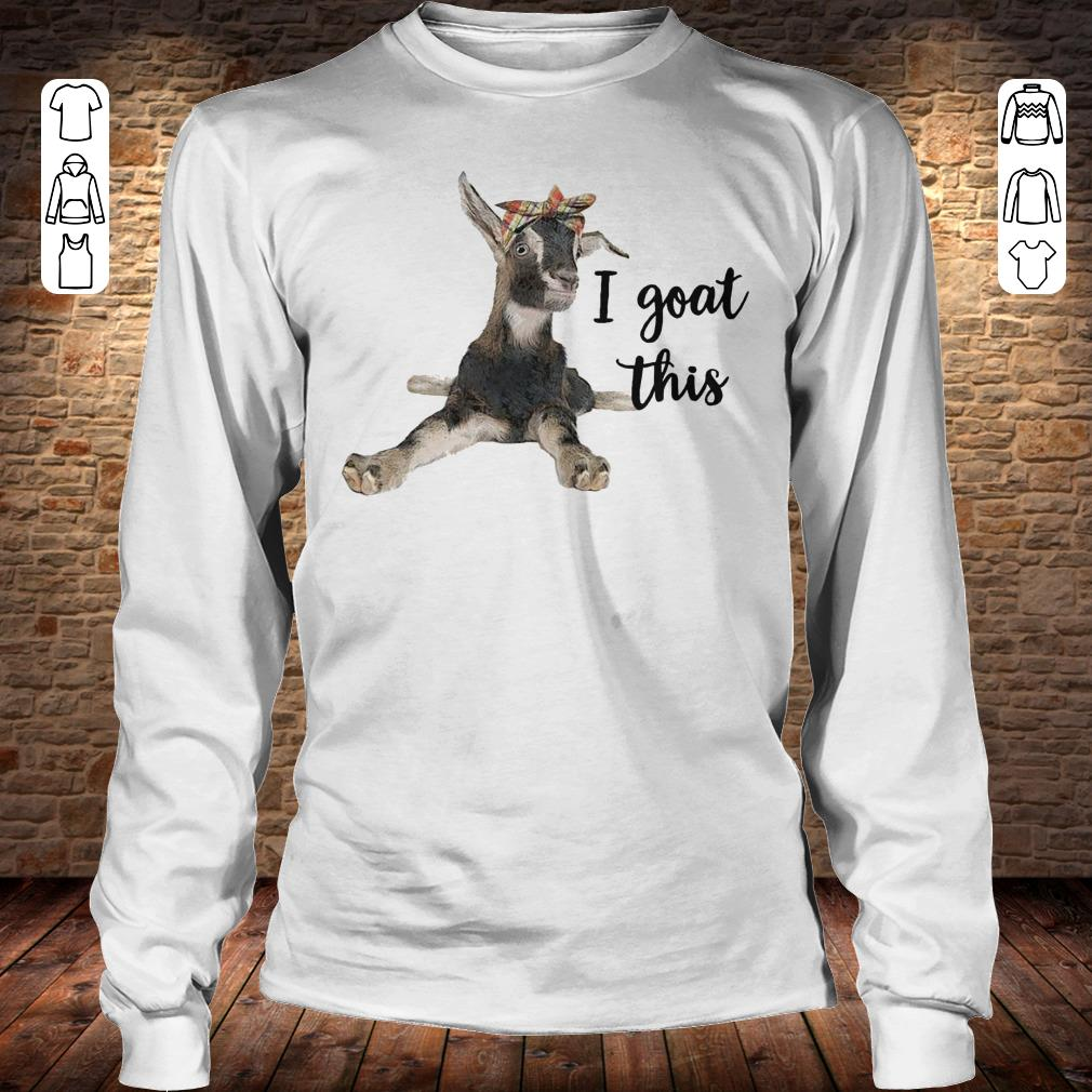 Farmers I goat this shirt Longsleeve Tee Unisex
