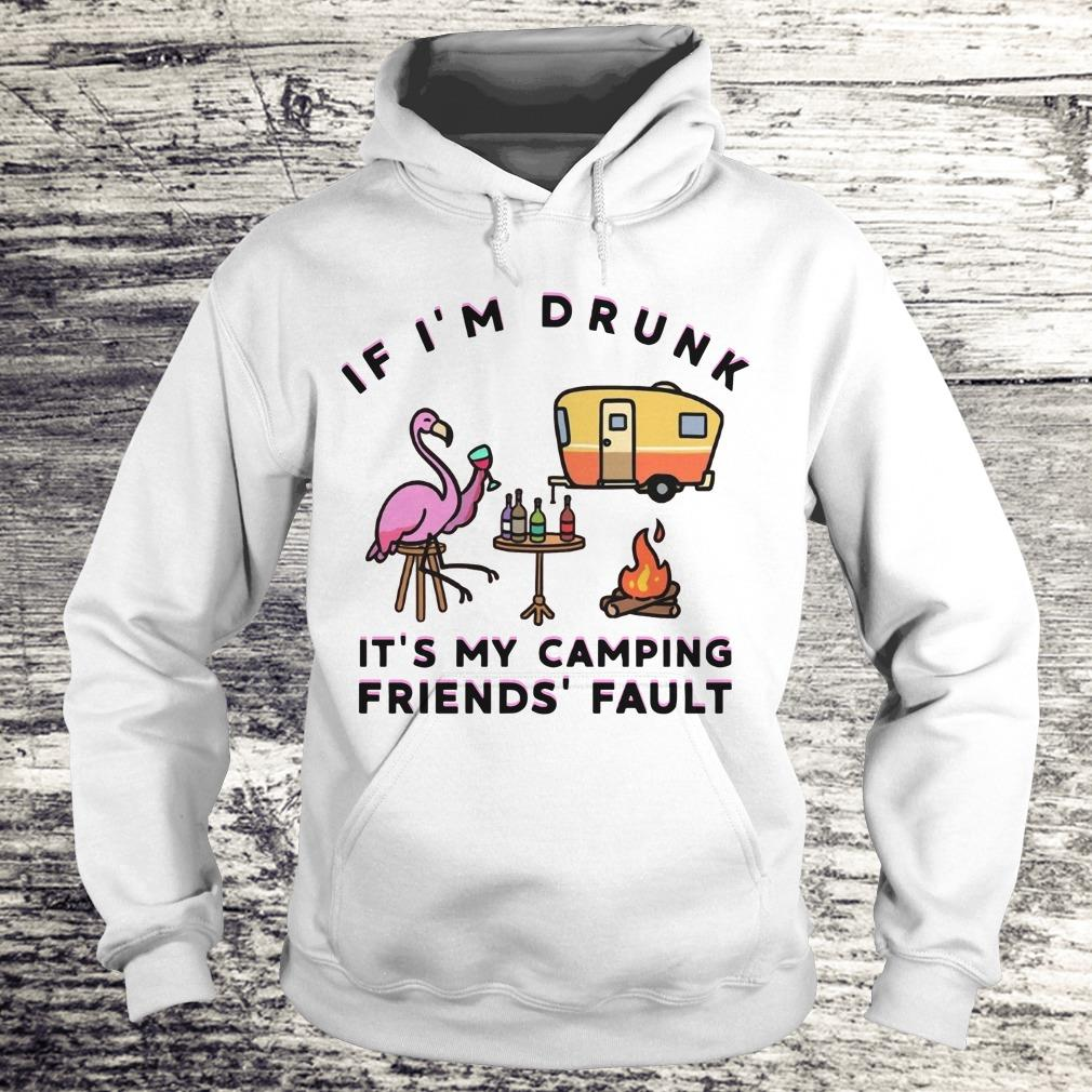 Flamingo If I'm drunk shirt