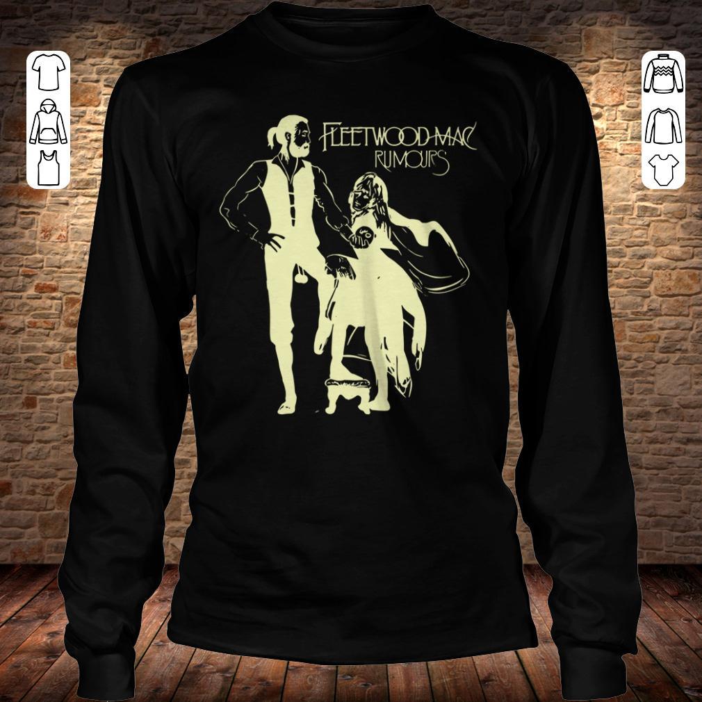 Fleetwood Mac - Progressive Rock Rumours shirt Longsleeve Tee Unisex