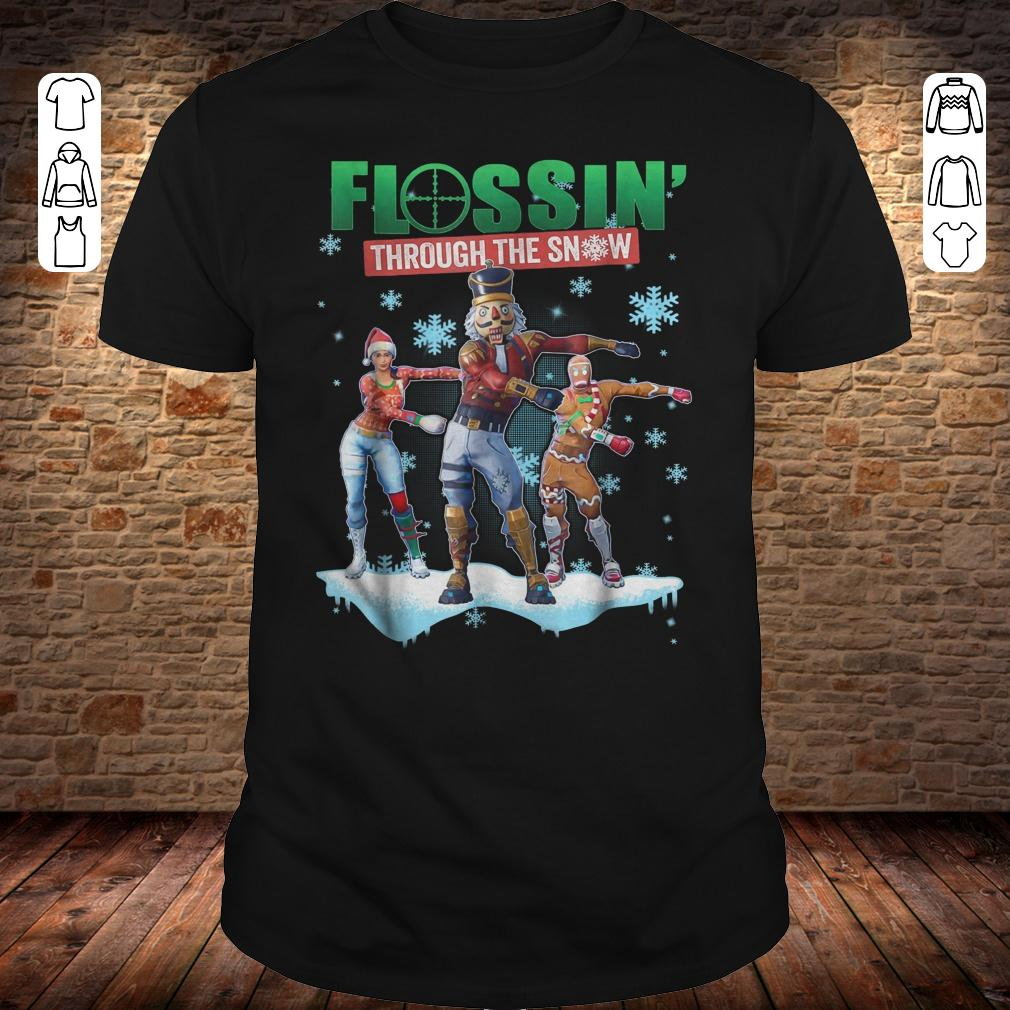 Fortnite Flossin Through the snow shirt
