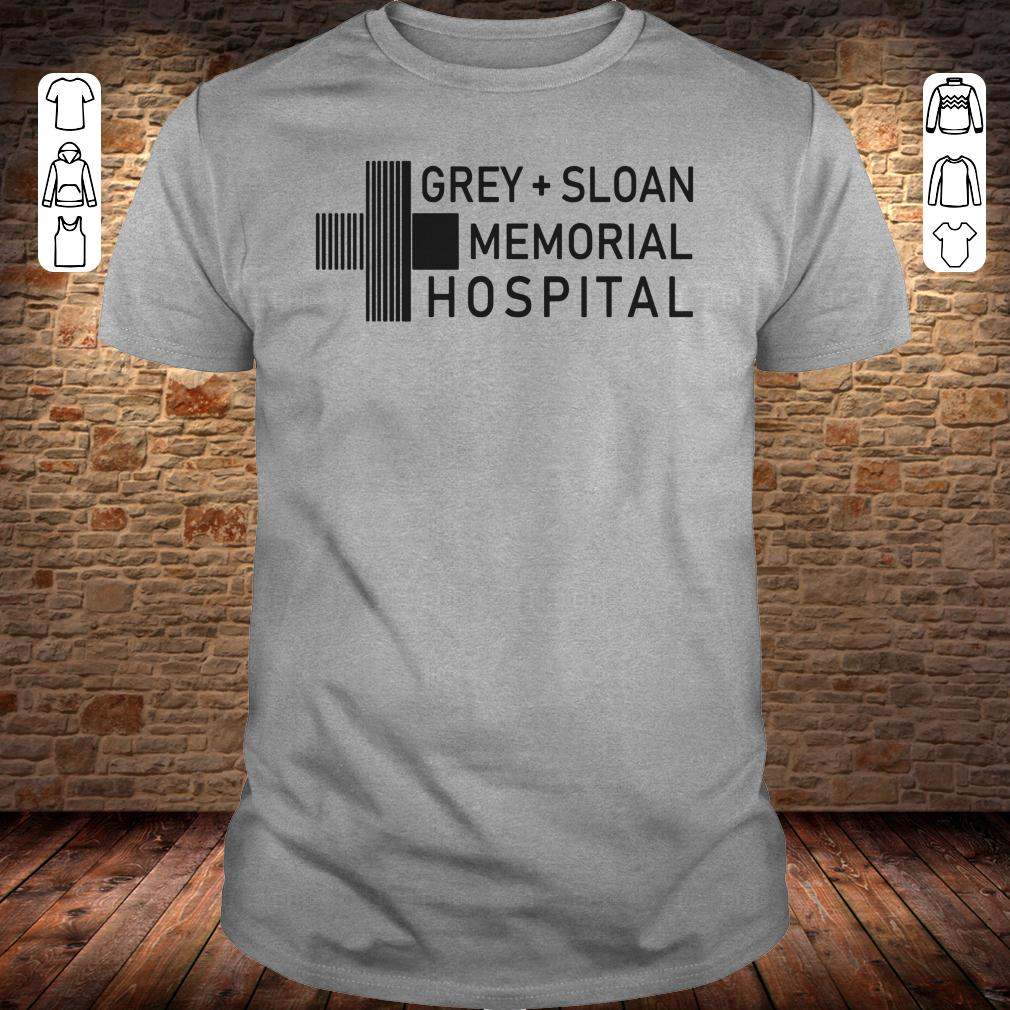 Grey sloan memorial hospital shirt, hoodie Classic Guys / Unisex Tee