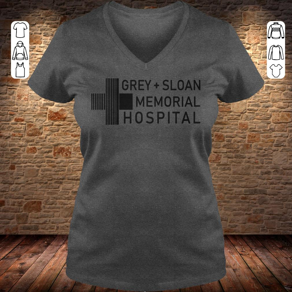 Grey sloan memorial hospital shirt, hoodie Ladies V-Neck