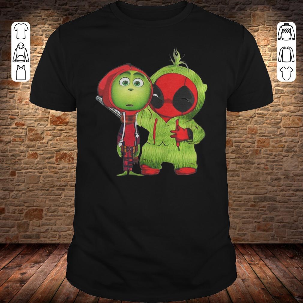Grinch Baby Deadpool shirt Classic Guys / Unisex Tee