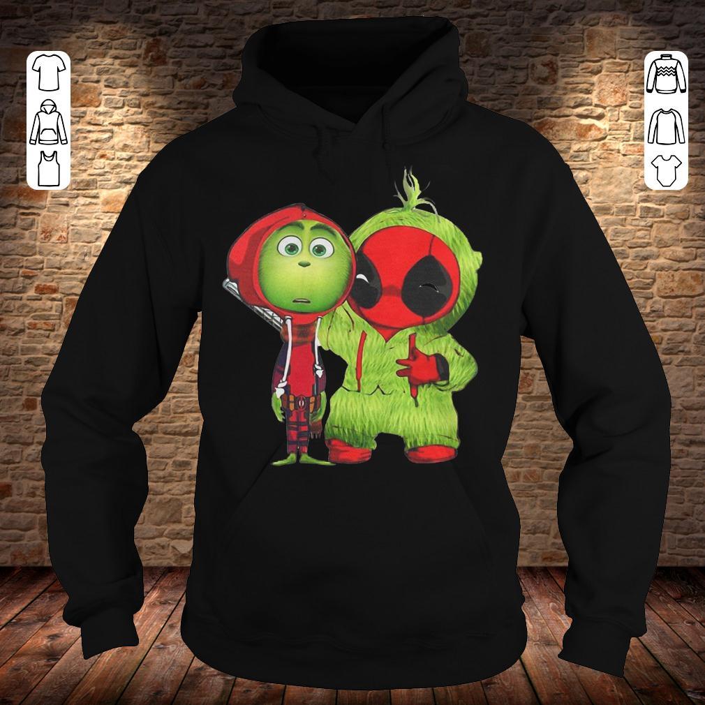 Grinch Baby Deadpool shirt Hoodie