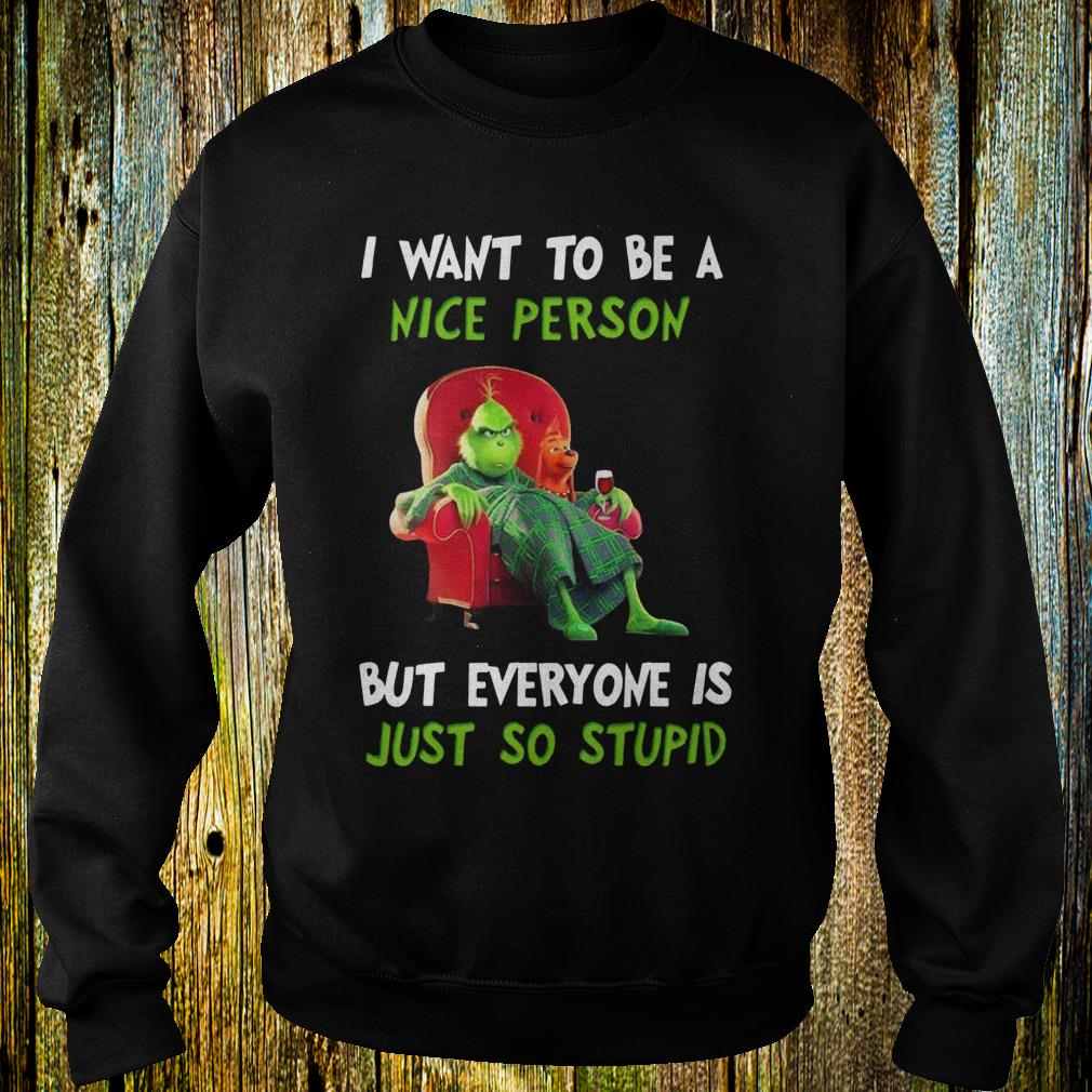 Grinch I hate morning people shirt 2