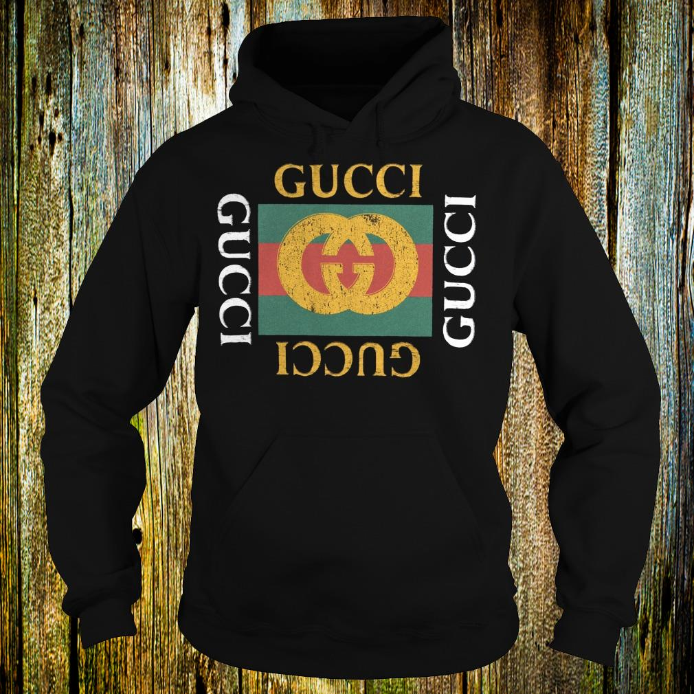 Gucci logo printed shirt Hoodie