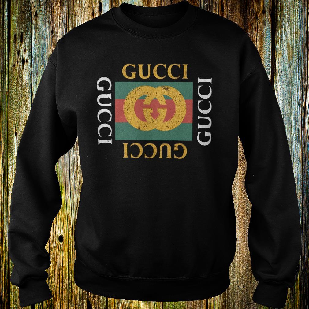 Gucci logo printed shirt 1