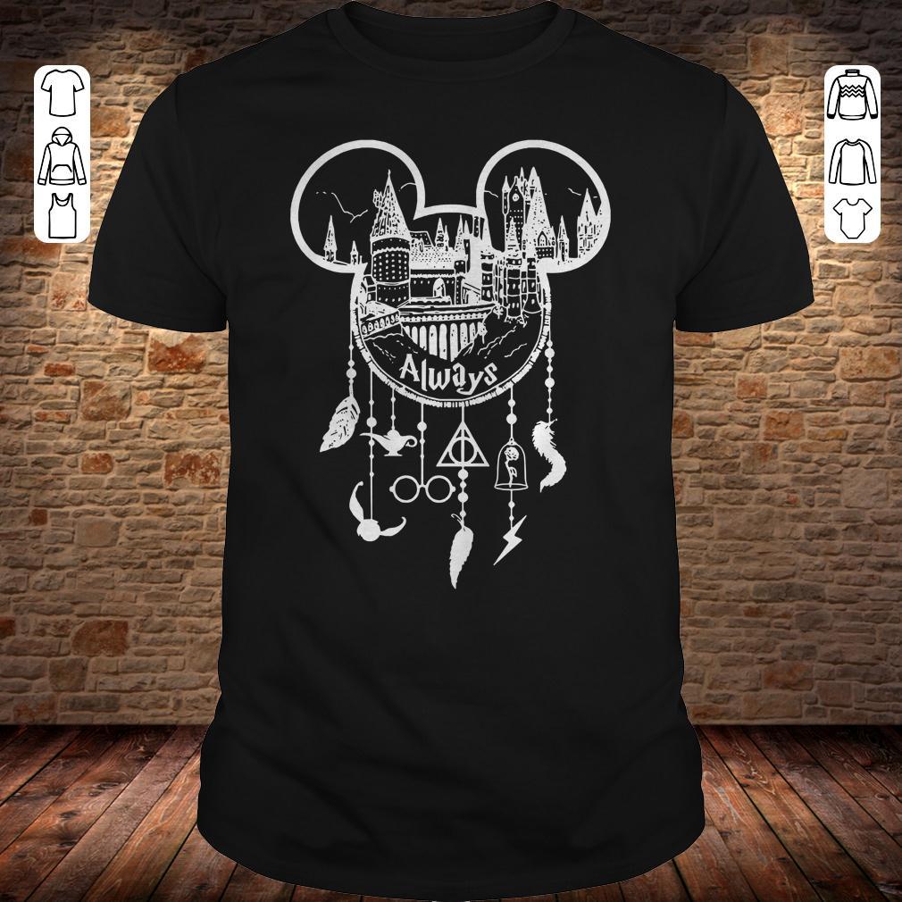 07b87192f Harry Potter Always Mickey Mouse Dreamcatcher shirt