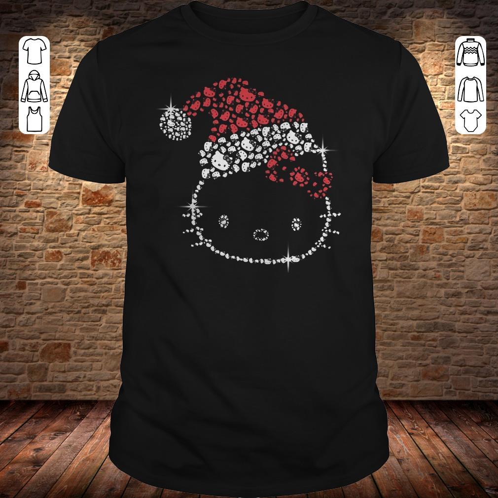 Hello Kitty Santa Hat Rhinestone shirt 1