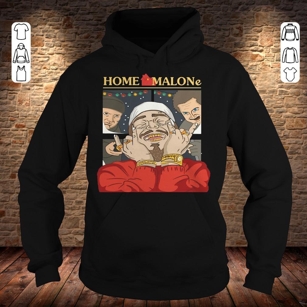 Home Alone and Post Malone Mashup Hoodie