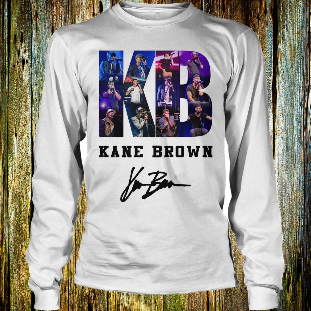 Kane Brown Signed Autograph shirt Longsleeve Tee Unisex