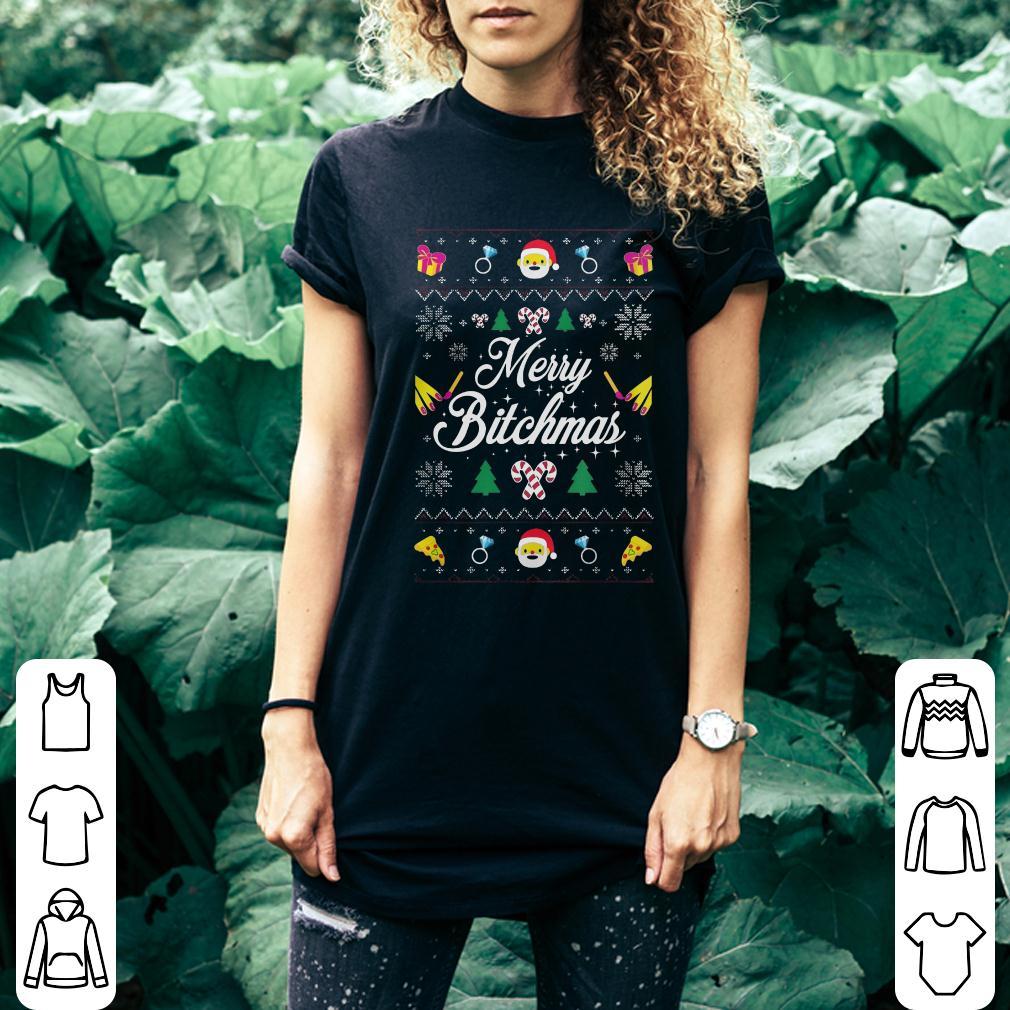 Merry Bitchmas Sweater shirt 2