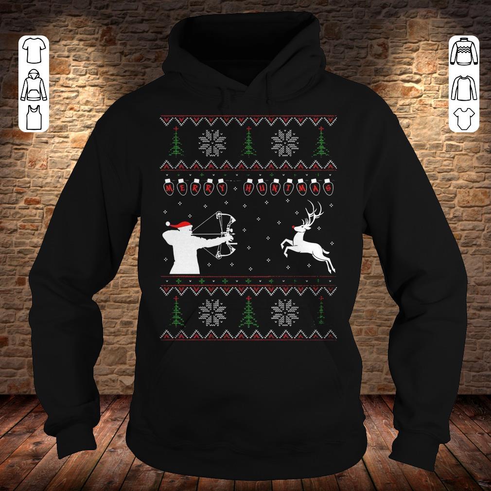 Merry huntmas sweater Hoodie