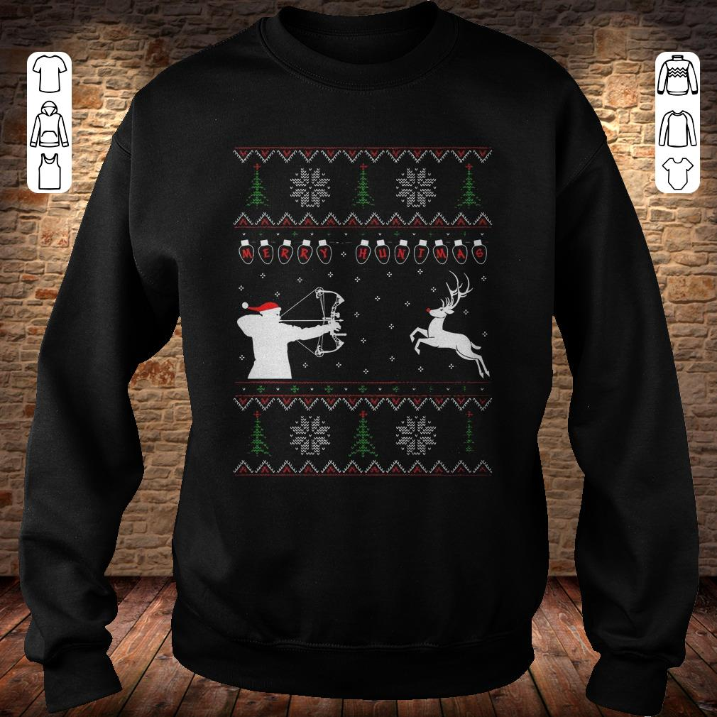 Merry huntmas sweater