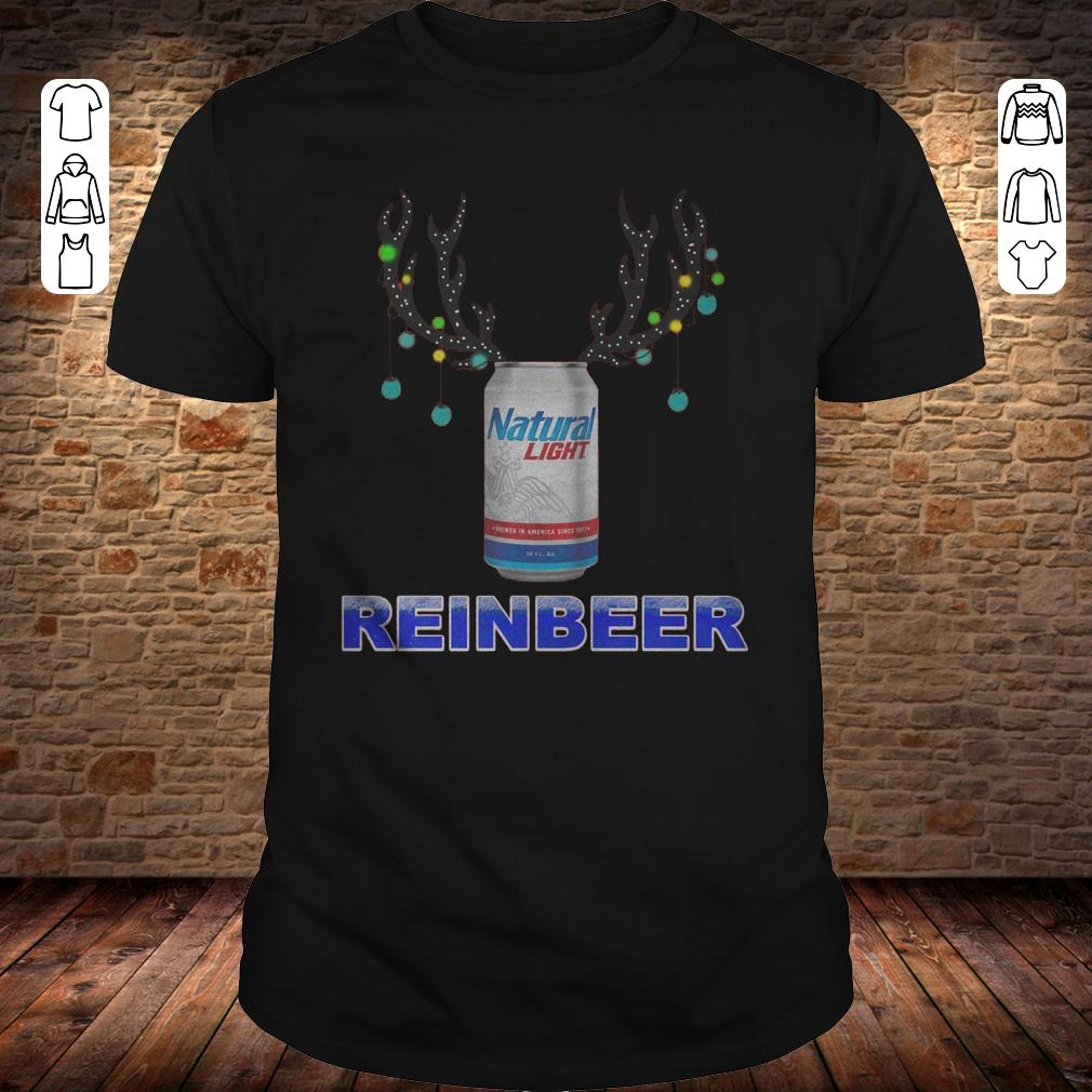 Natural Light Reinbeer shirt