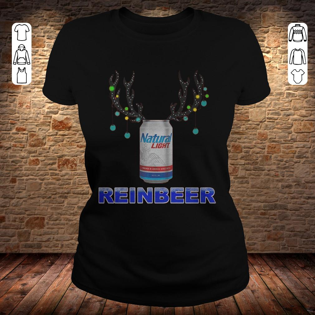 Natural Light Reinbeer shirt Classic Ladies Tee - Natural Light Reinbeer shirt