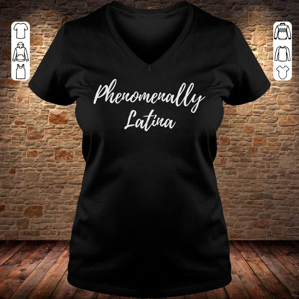 Phenomenally Latina shirt Ladies V-Neck