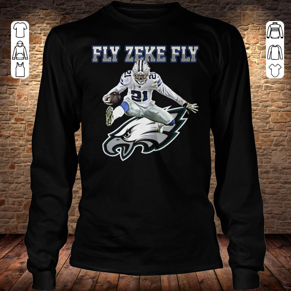 Philadelphia Eagles Fly Zeke Fly shirt Longsleeve Tee Unisex