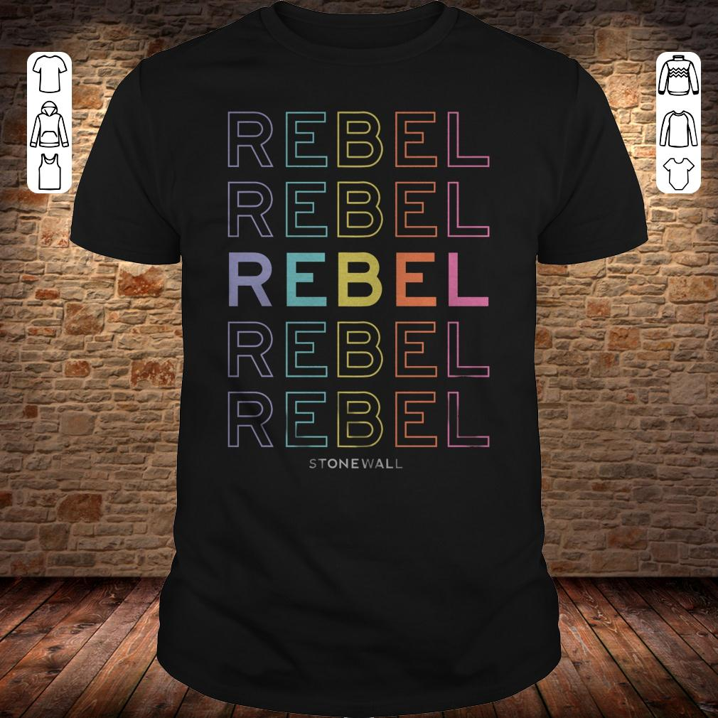 Rebel Stonewall Pride Live Nation shirt