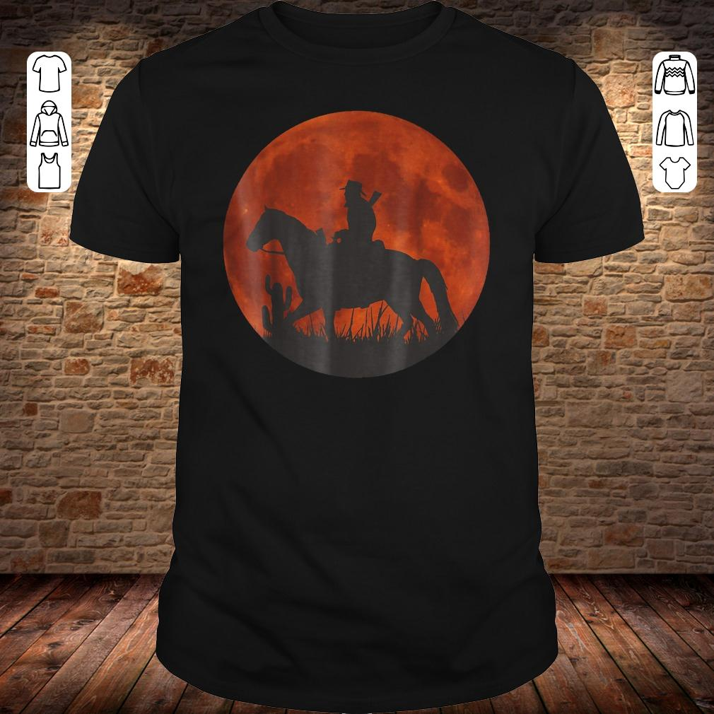 Red Moon Cowboy Red Dead Redemption shirt
