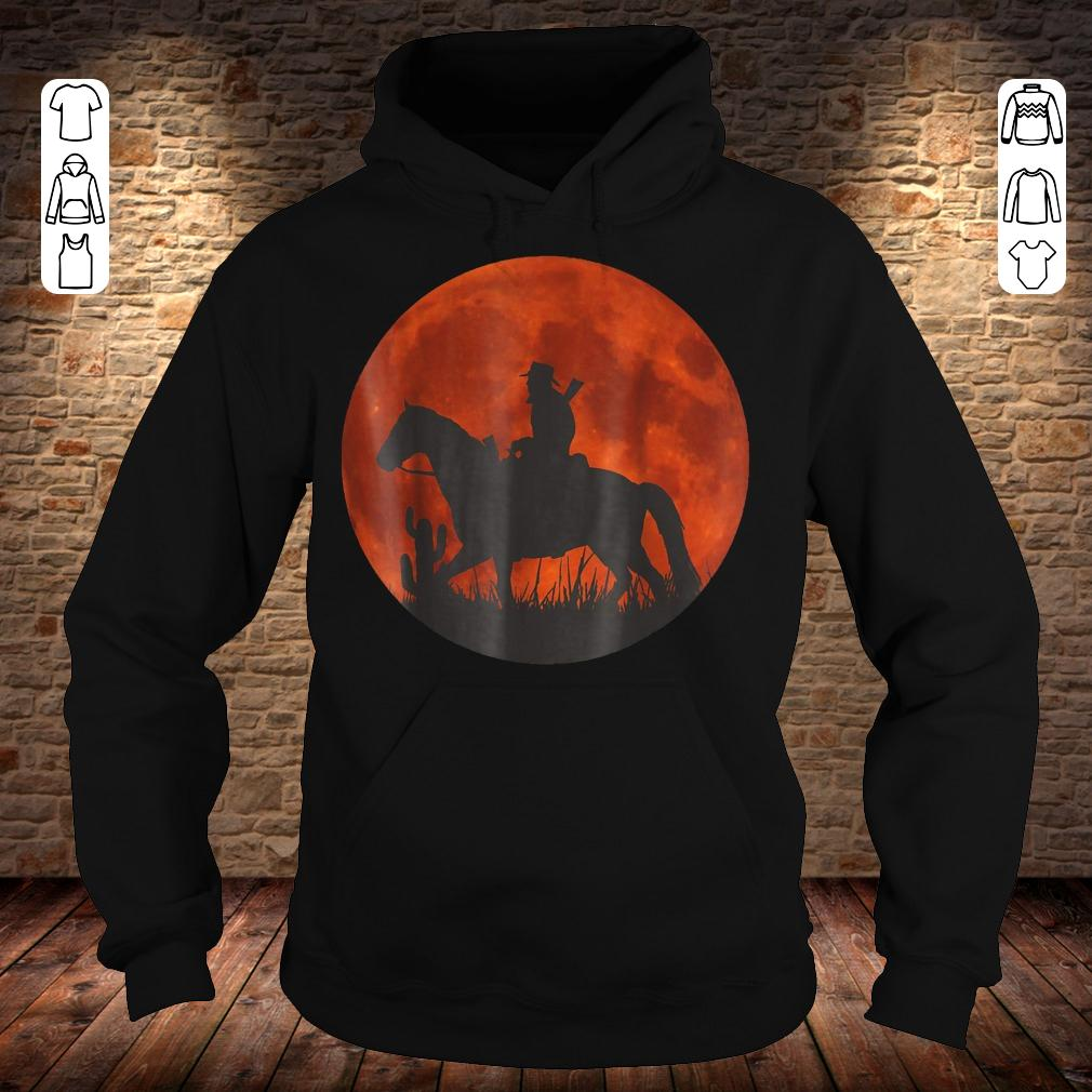Red Moon Cowboy Red Dead Redemption shirt Hoodie