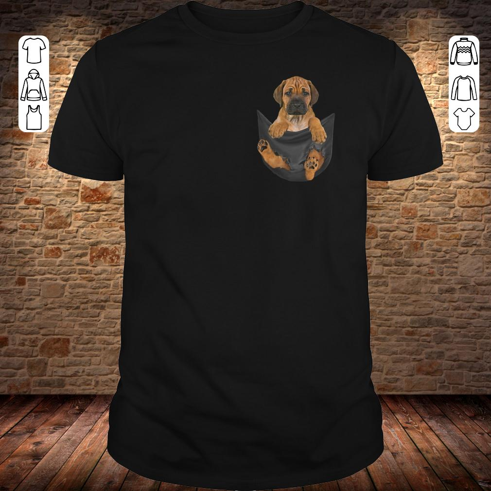 Rhodesian Ridgeback in Tiny Pocket shirt