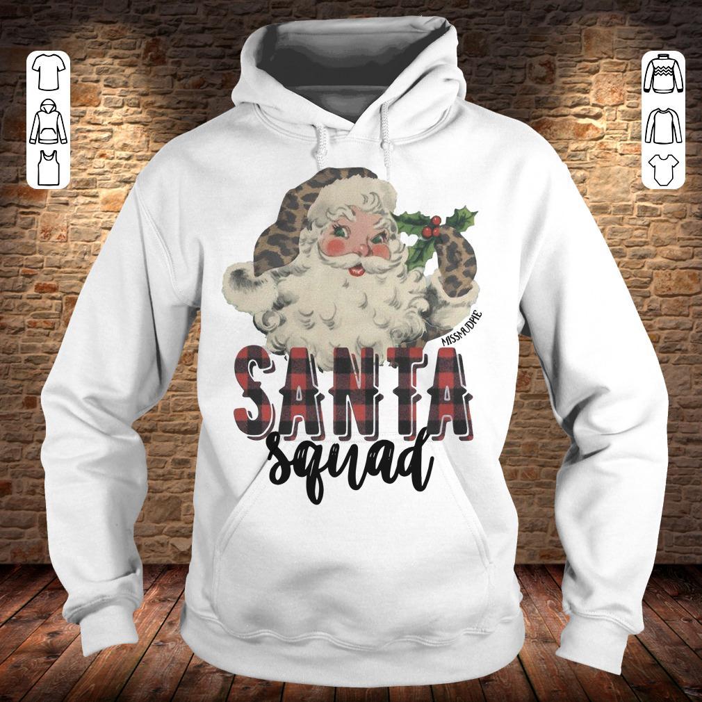 Santa Squad shirt Hoodie