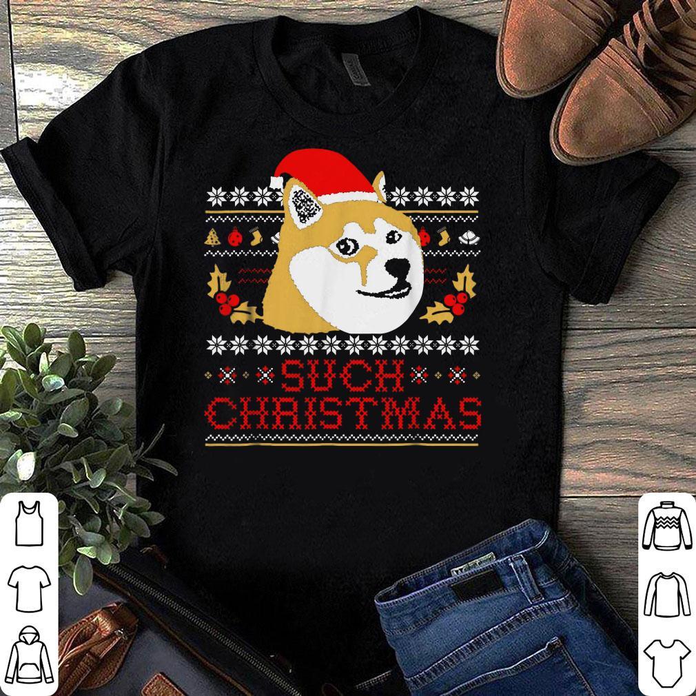Shiba Inu Such Christmas Sweater shirt